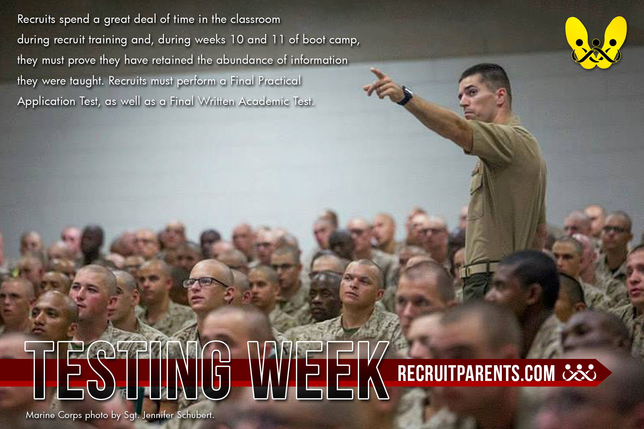 RecruitParents.com USMC Testing Week