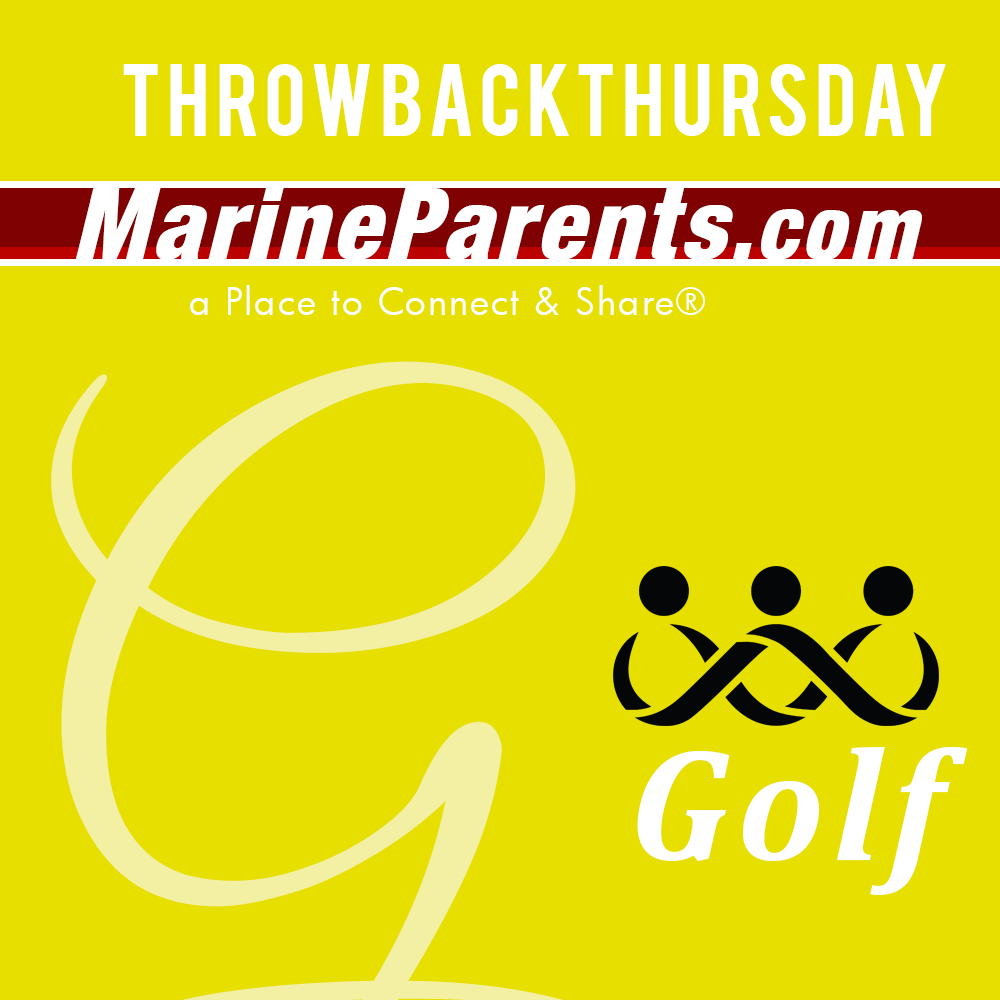 MarineParents.com USMC #throwbackthursday