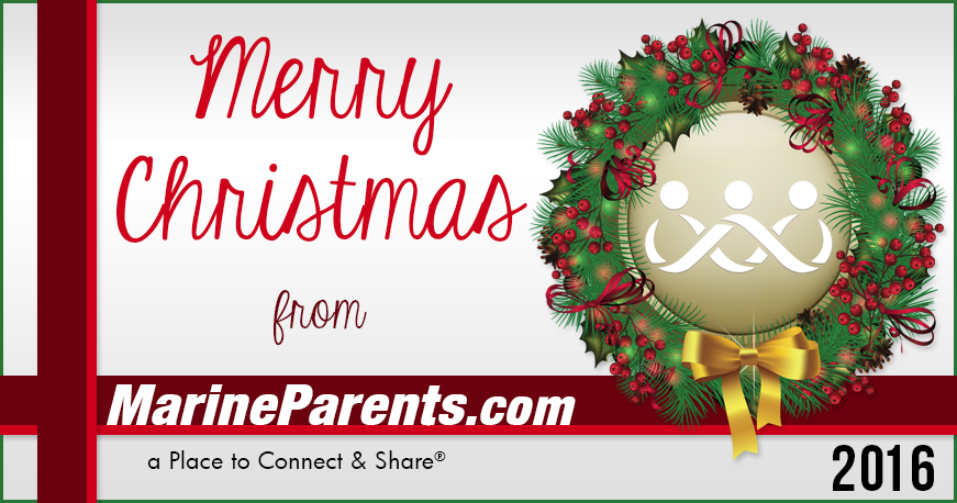 Merry Christmas Stockings MarineParents.com