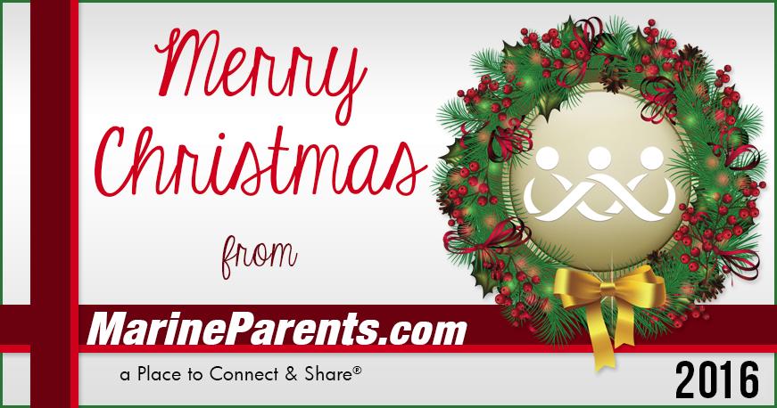 Merry Christmas Stockings MarineParents.com
