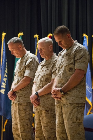 Marine Corps Combat Development Command Change of Command