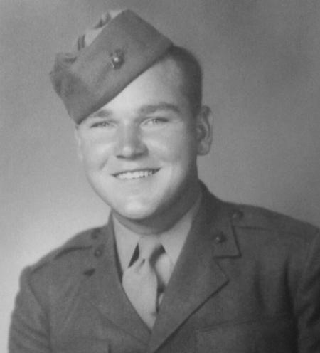 Iwo Jima Marine Dies