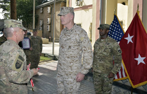 Marine Corps Merges African, European Commands