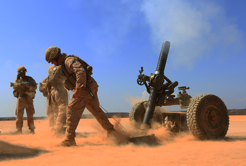 Corps Introduces New Artillery Round