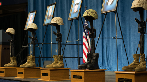 Families of Marines Killed in Chattanooga Shooting Receive Purple Hearts