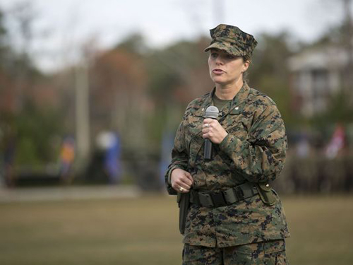 Marine Becomes First Woman to Lead Engineer Support Battalion
