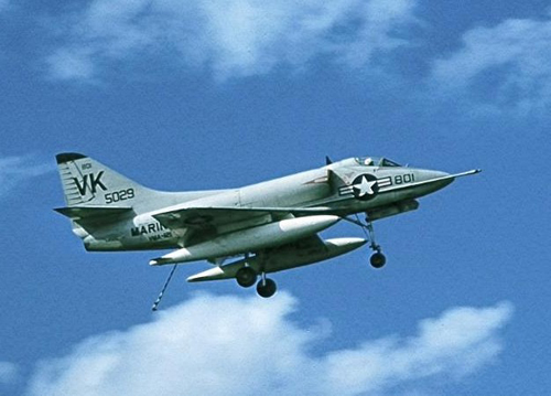 A-4 Skyhawk Retired