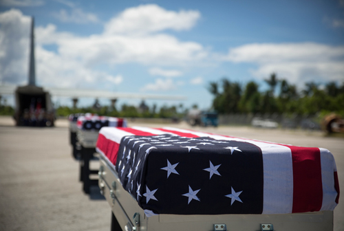 Marine Remains Returned from Tarawa