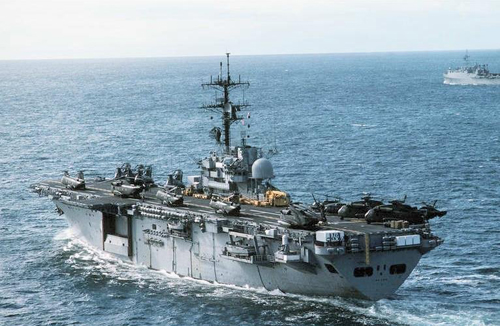 This Week in Marine Corps History: USS Iwo Jima Decommissioned