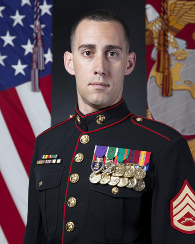 Staff Sergeant Named Marine Corps Times Marine of the Year