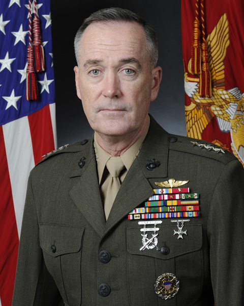 General Dunford Approved as Joint Chiefs of Staff Chairman