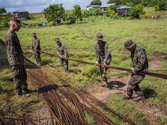 Corps Helps Central American Troops Develop Training