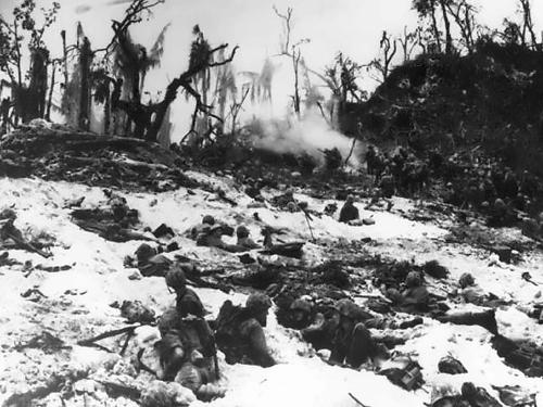 Marines Secure Peleliu