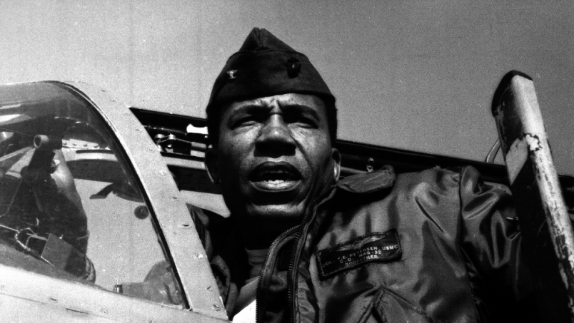 First African-American Marine Corps Aviator, General Dies