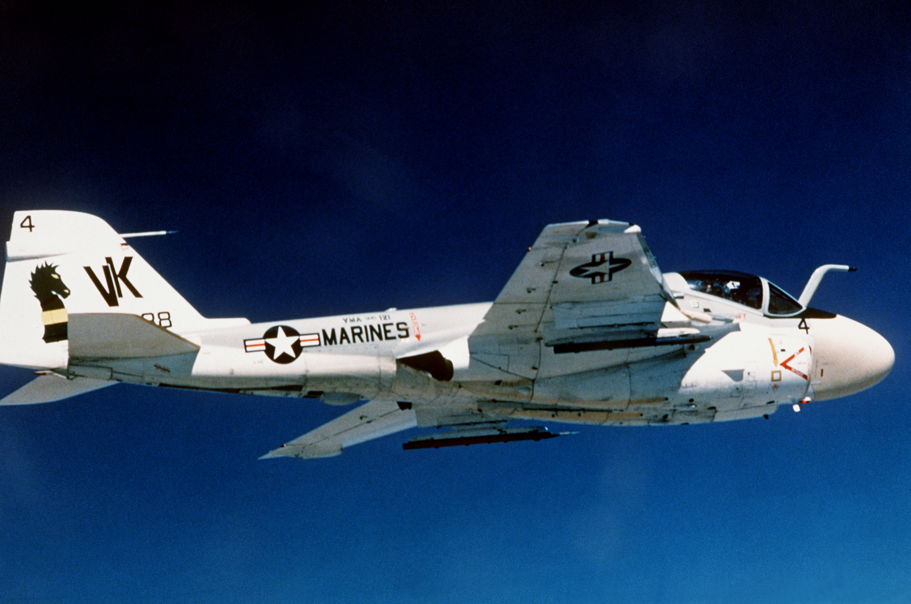 A-6E Intruder Departed from Marine Corps Service