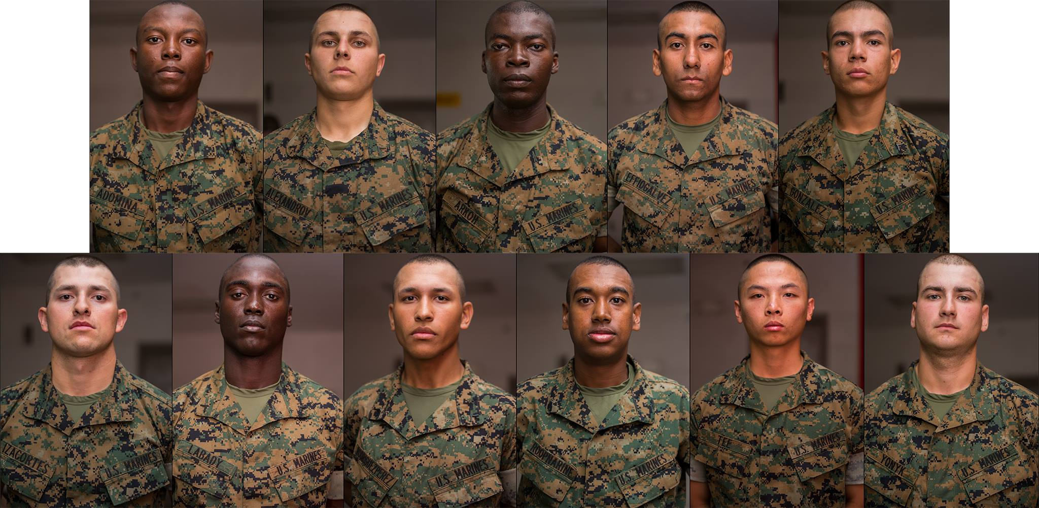 Foreign-Born Marines Gain Citizenship