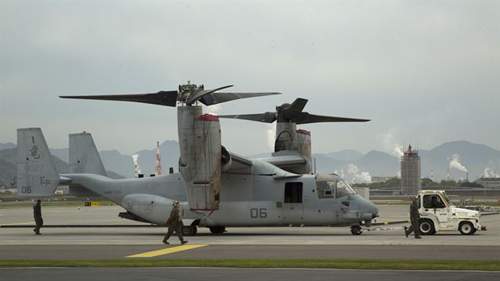 V-22 Osprey Makes its Debut