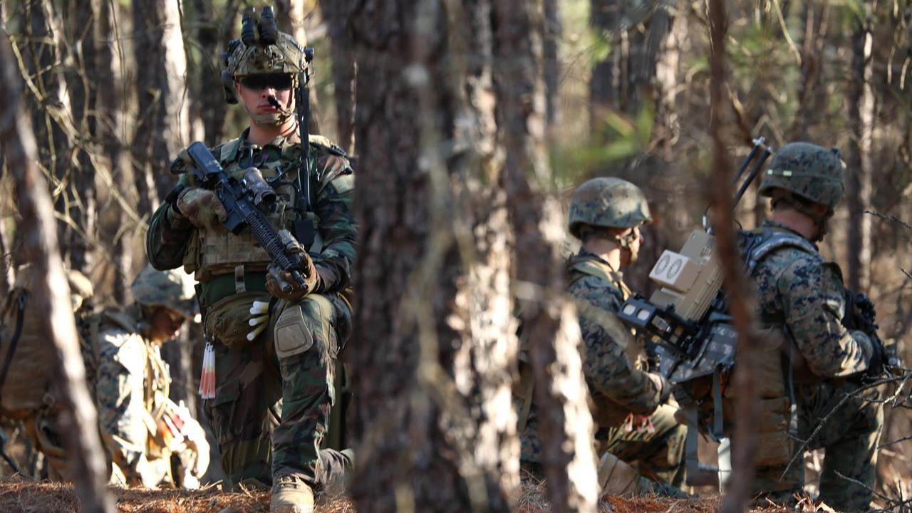 Marine Raiders Train in South Carolina