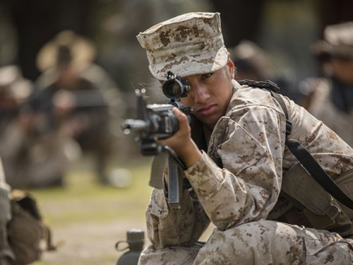 Men and Women Must Meet Same Standards for Combat Jobs