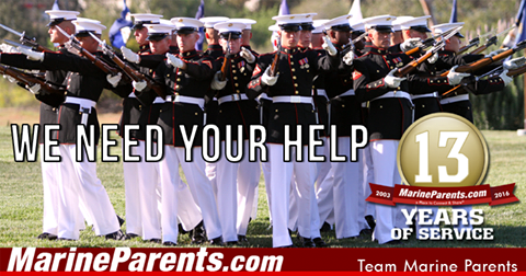Team Marine Parents Participants Need Your Help!