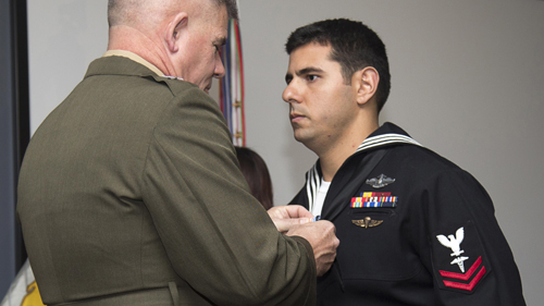 Marine Corps News: Corpsman Awarded Silver Star