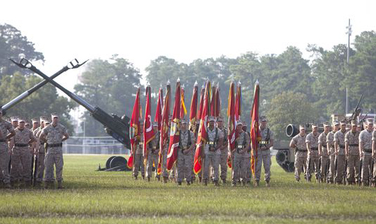 Second Marine Division Celebrates 75th Anniversary