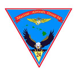 MAG-24 insignia