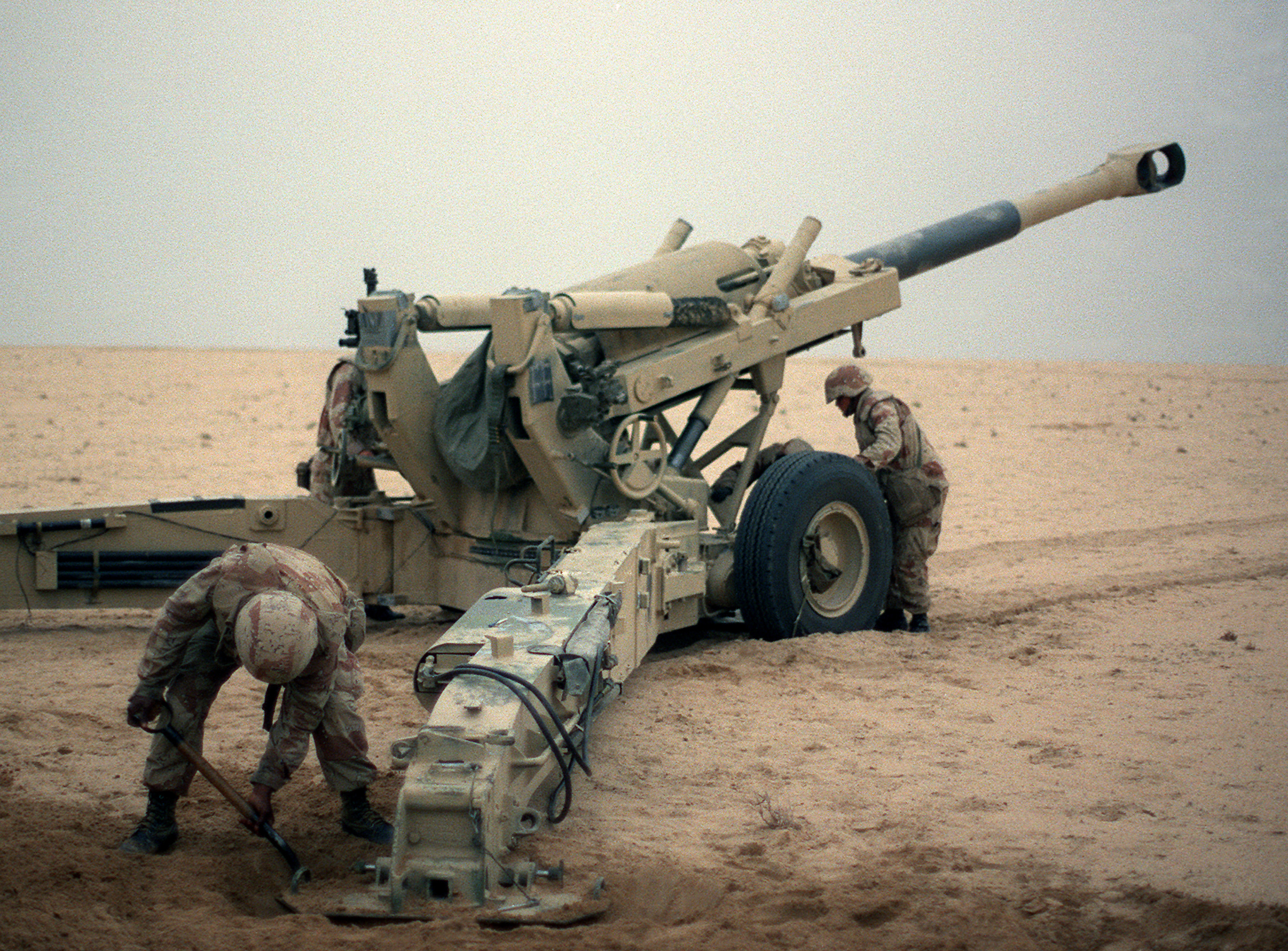 Operation Desert Storm Ground Combat Begins