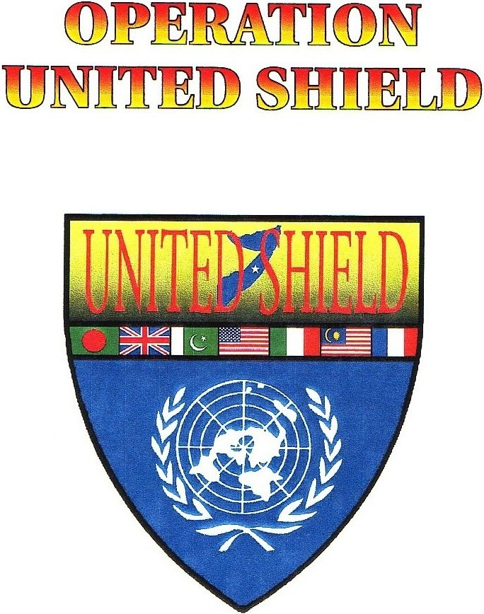 Official logo for Operation United Shield