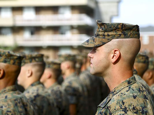 Marine Corps News: Gunnery Sergeant Brian Downing Named Marine Corps Times Marine of the Year