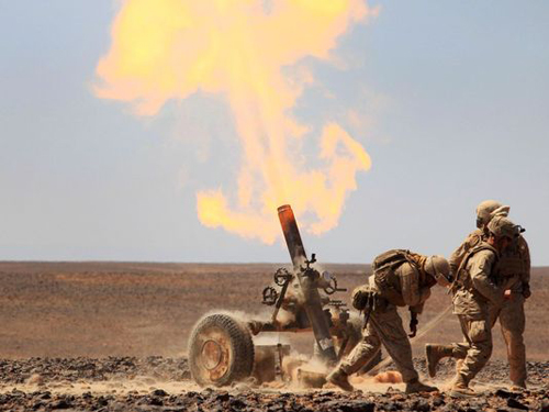 Marine Corps News: Corps to Test New Mortar Round this Fall
