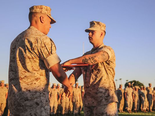 Marine Corps News: Marine Awarded Medal for Heroism