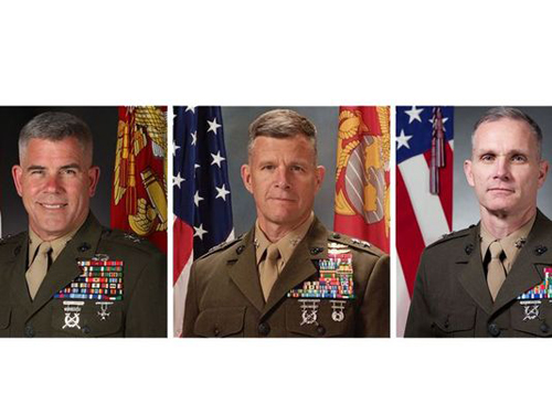 Marine Corps News: Three Generals Nominated to Receive Third Star
