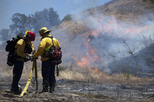 Marine Corps News: Wildfire Aboard Marine Corps Base Camp Pendleton