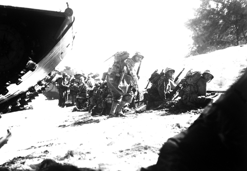 This Week in Marine Corps History: Marines Assault Saipan