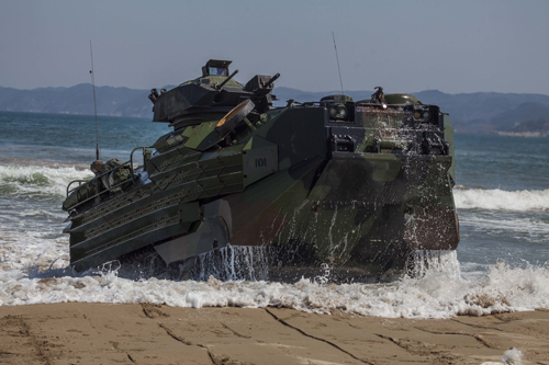 Marine Corps News: Amphibious Assault Vehicle Upgrade