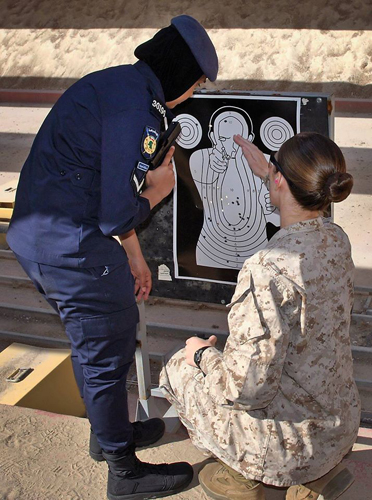 Marine Corps News: Female Marines Train with Kuwaiti Female Police