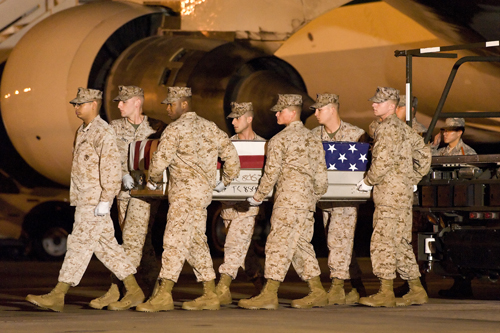 Fallen Marine's Bronze Star Upgraded to Silver Star