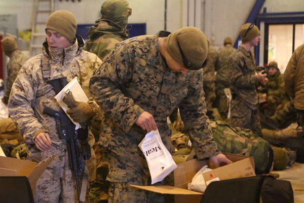 Marine Corps Wants Smaller, Lighter MREs