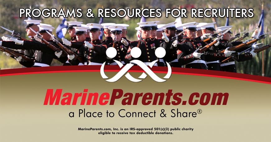 MarineParents.com Support Programs for Recruiters