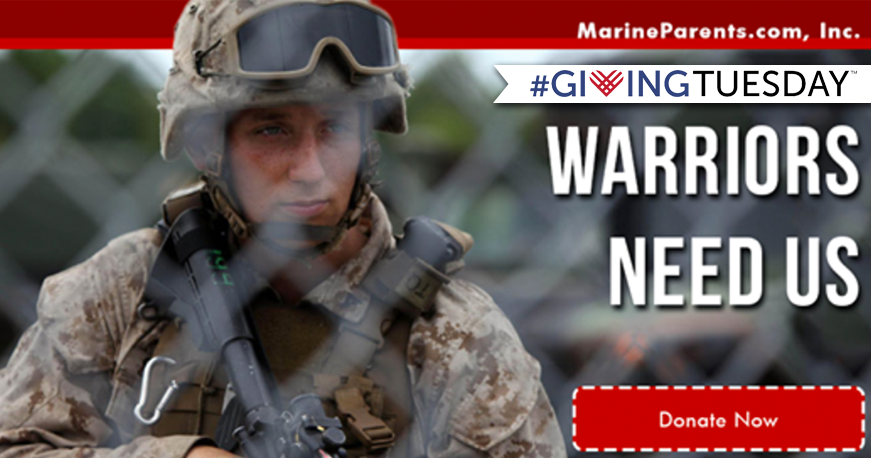 Giving Tuesday for Warrior Reintegration