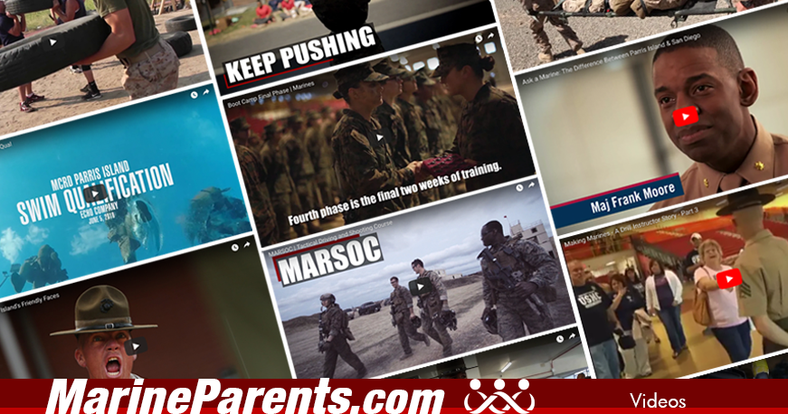 Videos Shared on MarineParents.com