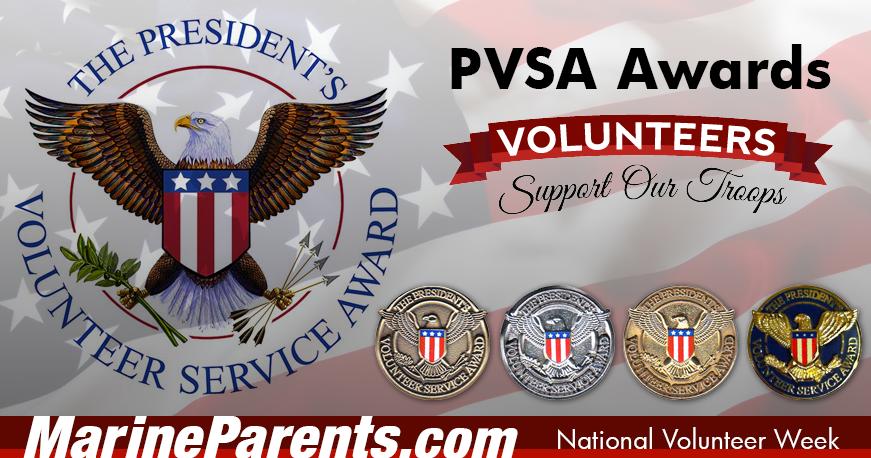 presidential volunteer service awards