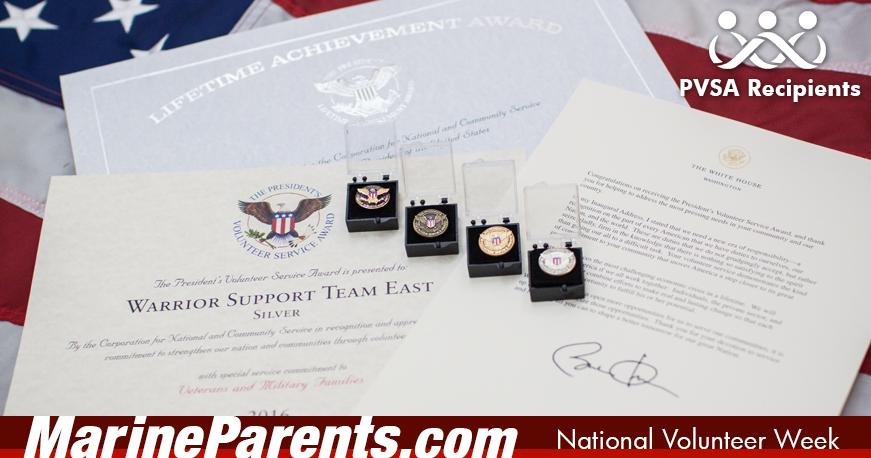 2016 Presidential Volunteer Service Awards Recipients