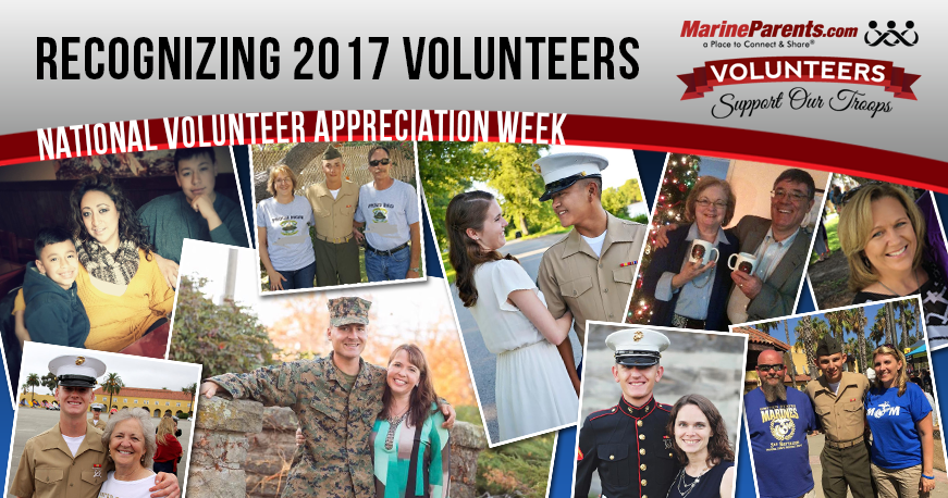 MarineParents.com Volunteer Appreciation
