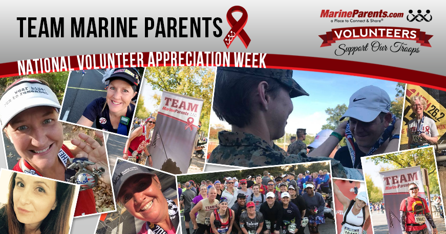 Team Marine Parents Volunteers