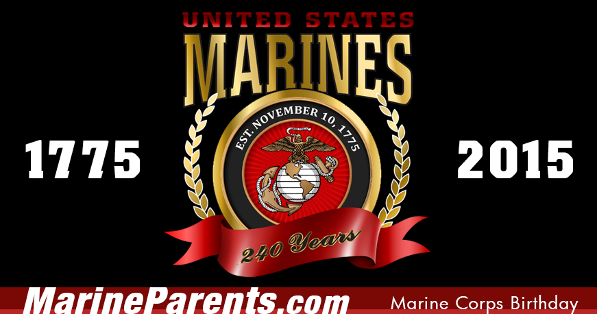 November 10 is the Marine Corps Birthday!