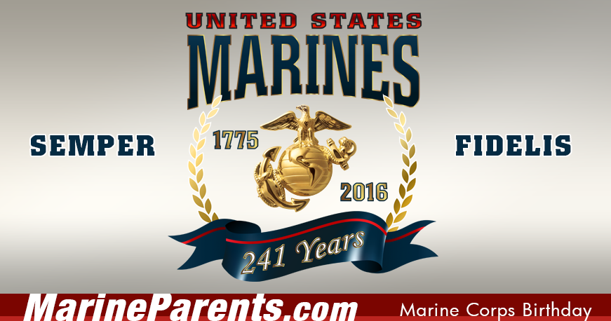 November 10 is the Marine Corps' Birthday