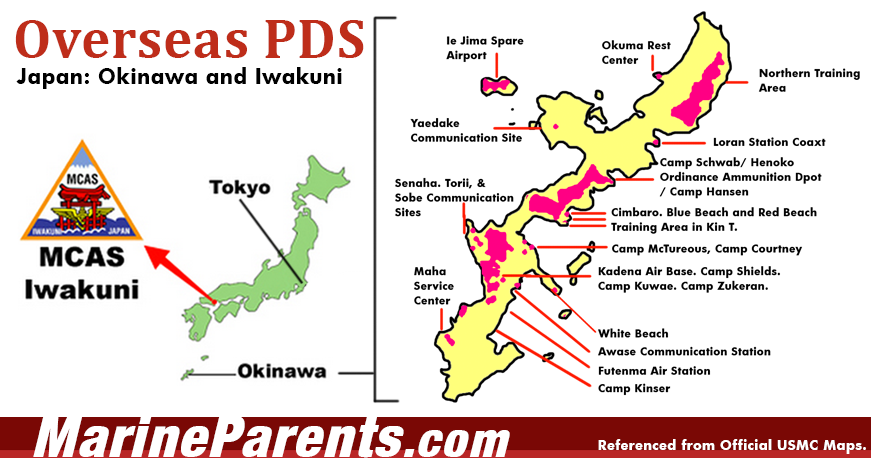 Marine Corps Bases In Japan General Information - Map us milittary bases opened