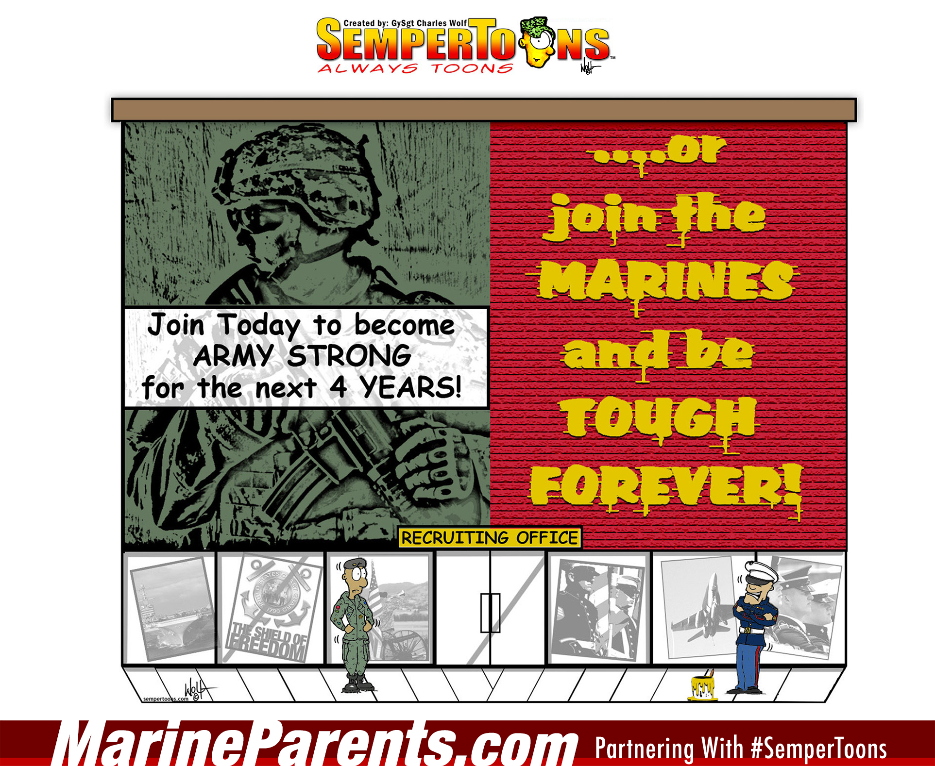 Tell It to the Marines #9